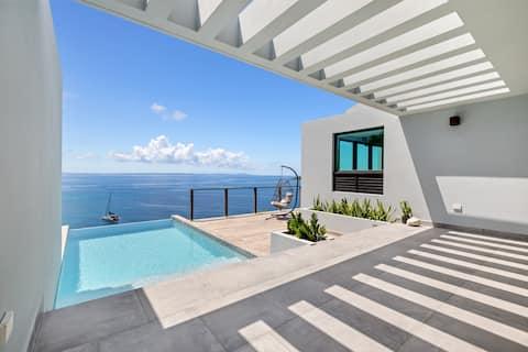 Villa Melones Reserve con impresionantes vistas al mar