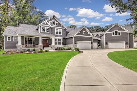 Northwest Indiana Mansion in private subdivision