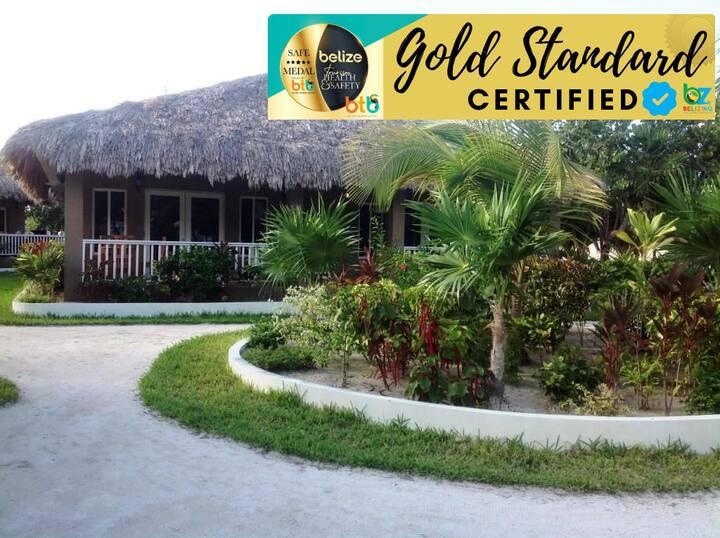 Our GOLD STANDARD beach & water view Cabana
