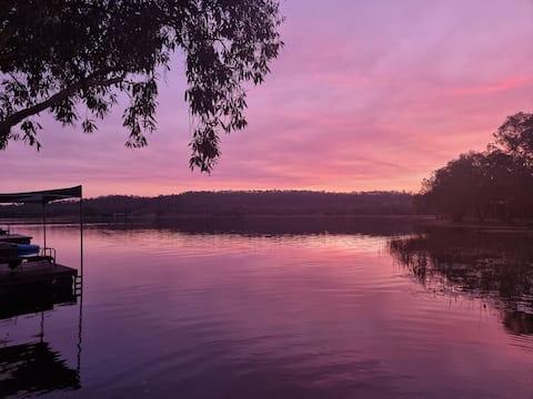 Lazy Lake Cabin,  a delightful lake side getaway