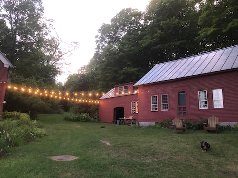 Stay in Quintessential Vermont - at The Red House