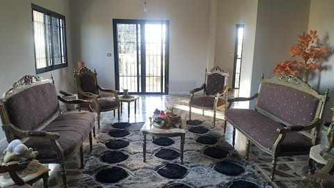 Cheerful green home in Barsa