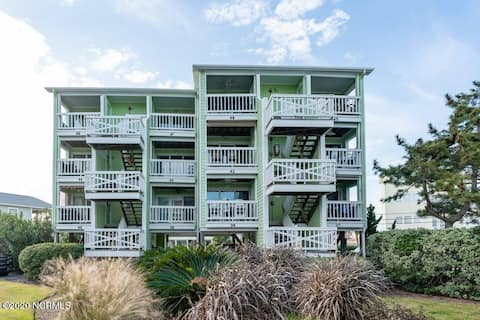Once Upon A Tide! 1st Floor Condo with Ocean View.