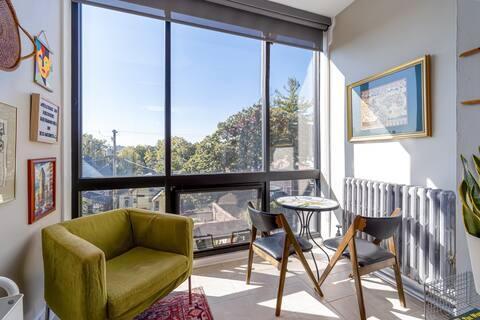 Appartement historique d'une chambre du milieu du siècle