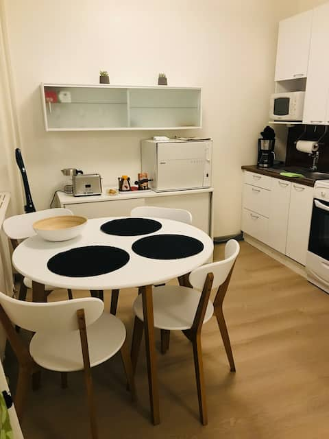 Joli studio au centre d'Oulu proche de tout!