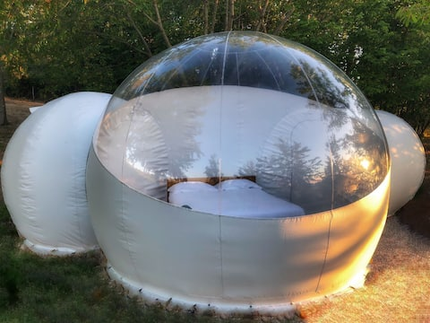 ★ Skyview Bubble Tent by the River