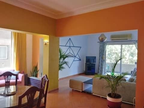 Маади, Дегла, солнечная комната с собственным балконом