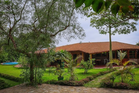Casa de campo El Potrero en Pachacamac