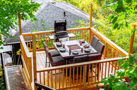 Chattanooga Treehouse Only 5 Mins From Downtown