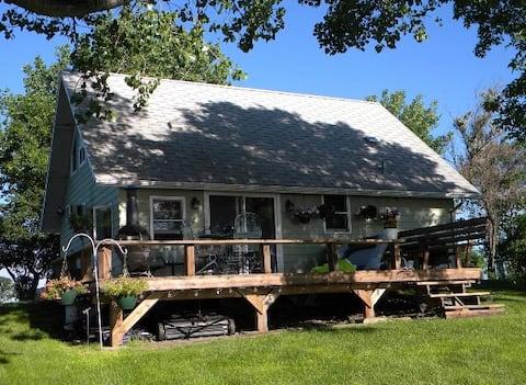 Casa de campo no lago