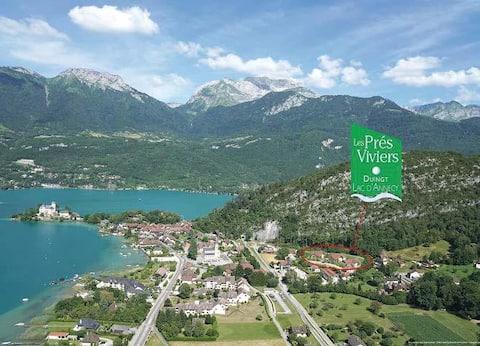 Chambre privée avec parking gratuit à 200m du lac