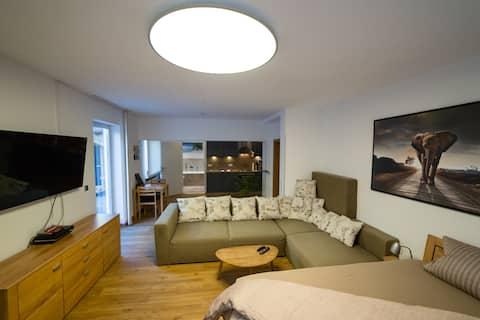Luxus Apartment mit Whirlpool und privater Sauna