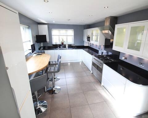 Loft single room in modern house