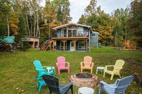 4 Season Cottage near ATV, Sled and Hiking Trails