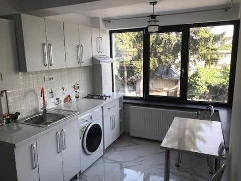 Apartamento con 1 habitación y terraza, 50 m ²