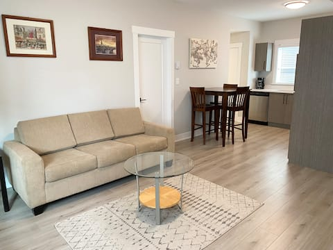 Brand new self contained, spacious 1 bedroom suite