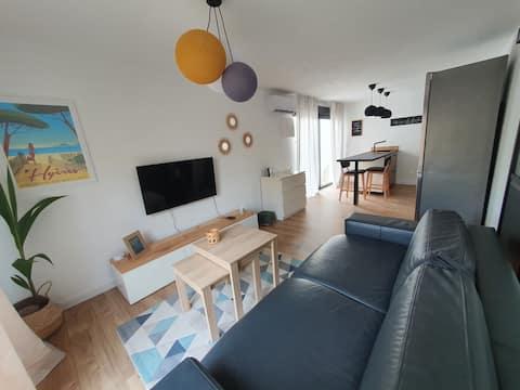 Hyères : superbe appartement neuf presqu'île Giens