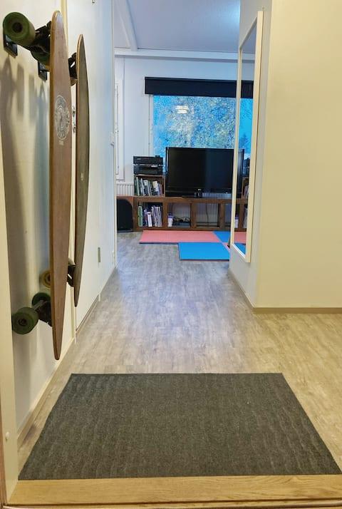 Practical apartment in a peacful neighborhood