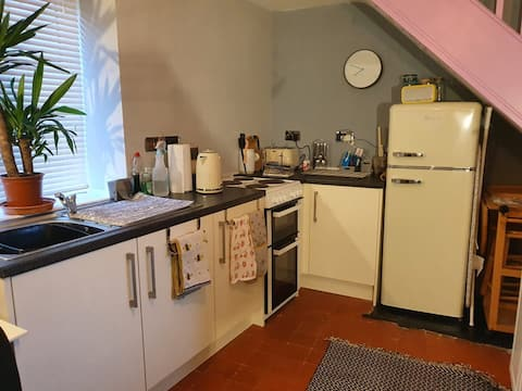 Private and secure 1 bedroom house.