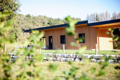 Le Lodge du Trappon : Maison contemporaine en bois