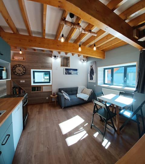Appartement duplex au calme aux portes de l'Oisans