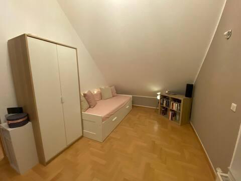 Cozy room in the attic