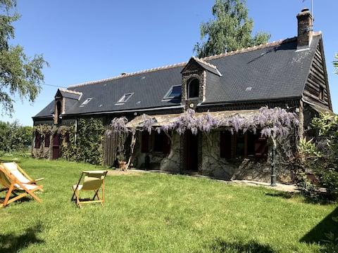 Encantadora casa rural con SPA -  170 km París