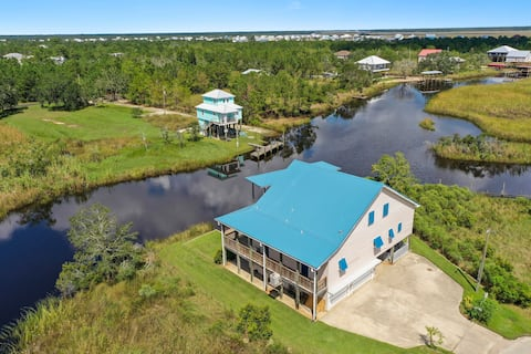 Majestic Waterfront home with so much to offer!