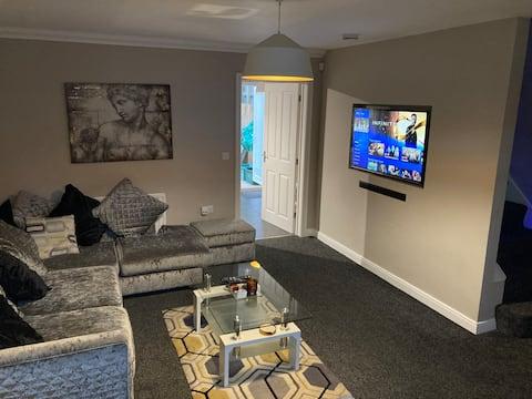 Modern 3 bedroom residential home.