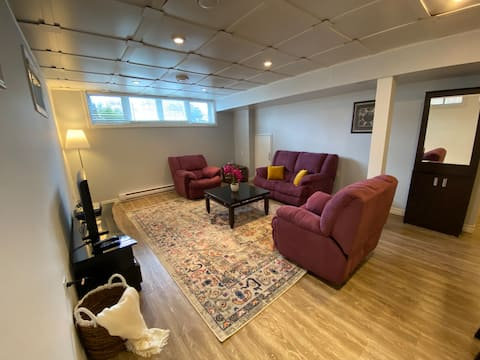 Well-decorated, Spacious, 2-Bedroom Basement