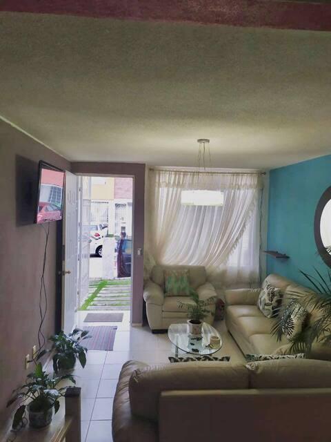 Hermosa/cómoda vivienda para disfrutar tu estadía.