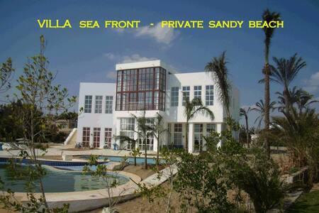 Your dream sea front villa  max13Pe