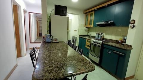 Confortable apartamento con excelente ubicación