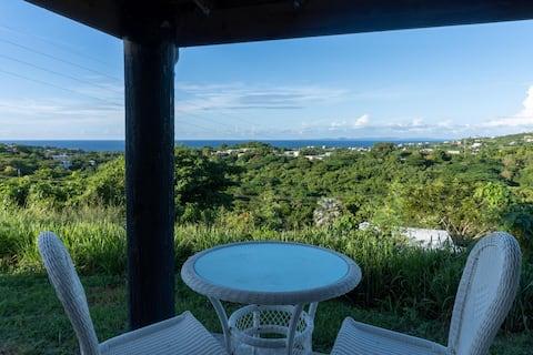 Incredible ocean view,  studio cabin, safe parking