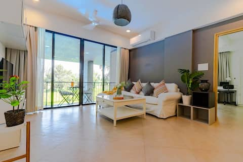 Plush 1BHK , with the most serene view in Candolim