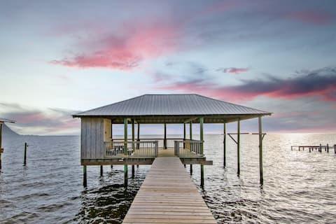 Waterfront Getaway - Private Pier - Fairhope