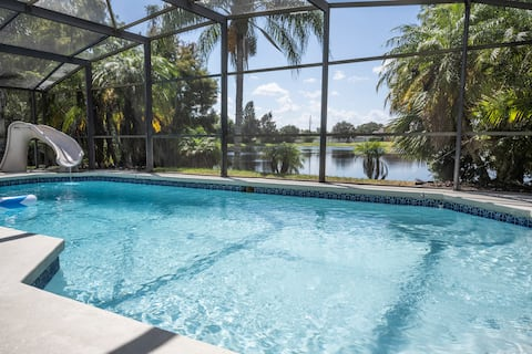 Lovely house with pool/game room near theme parks