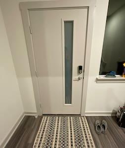 Doorway is 36 inches wide