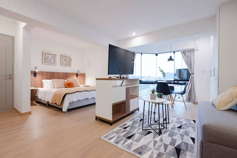 ALU Apartments-Loft en Miraflores c/AC