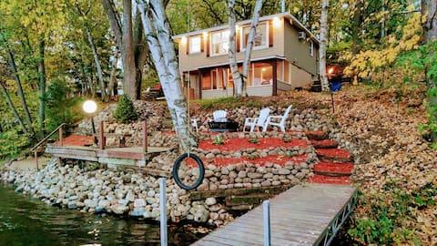 Paraíso en la Tierra: junto al LAGO Hoffman 's Lake Cabin
