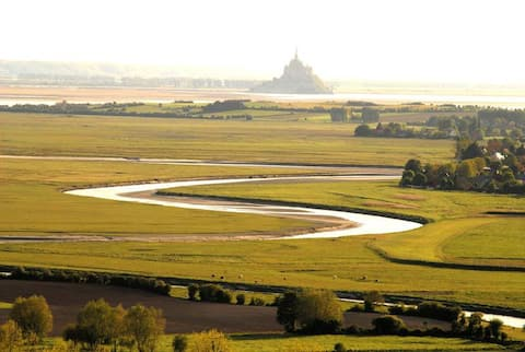 House 80 m² in the bay of Mont-Saint-Michel