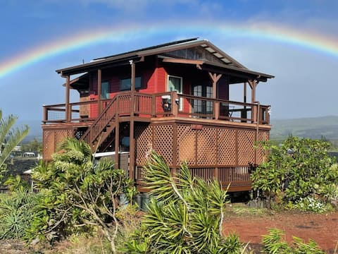 ** COZY LAVA HOME - Two Stories, Ocean Views **