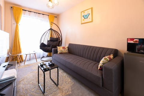 Cosy 1-bedroom Apartment on the 9th floor
