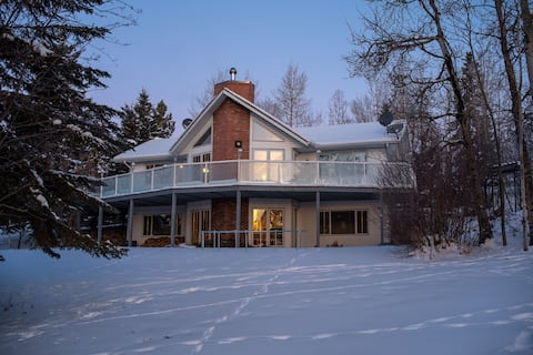 Lakefront cottage by Lake Isle