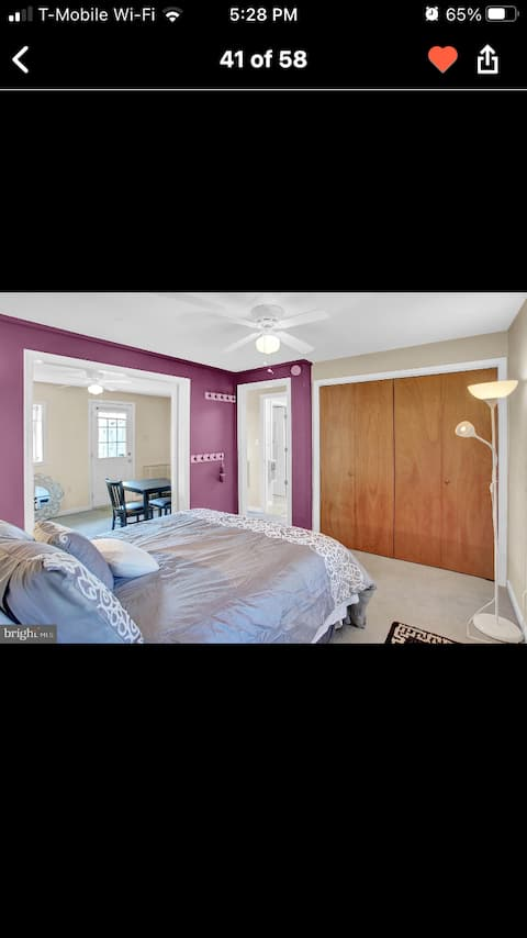 Adorable one bedroom guest house 5 mins from HBG.