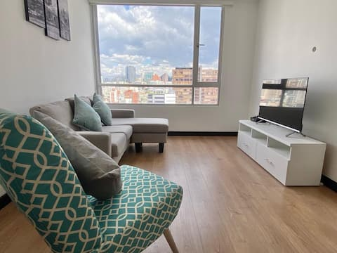 new and modern apartment, excellent location