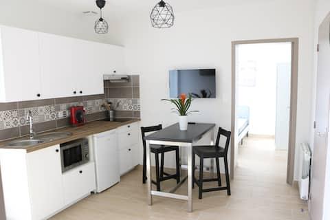 Bel appartement T2 neuf avec jardin et parking
