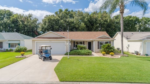 Private, remodeled 3/2, Golf Cart - 4, Pizza Oven!