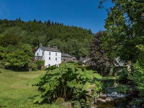 Traditional Lakeland House with Beautiful Gardens