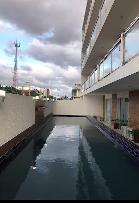 Condominio Eco Estudio  mono ambiente con piscina